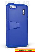 Funda Apple Iphone 5 - 5S / SE protectora / bumper con soporte azul oscuro