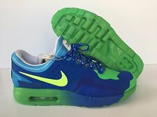 Nike Men's Air Max Zero DB Doernbecher Hyper Cobalt/Volt [898636-473] New Sz 9.5