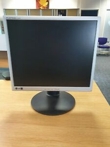 """LG Flatron L1942P 19"""" LCD Monitor. VGA and DVI-D connections."""