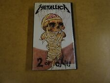 VHS VIDEO CASSETTE / METALLICA - 2 OF ONE