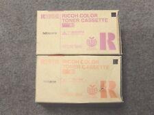 Ricoh 888341 Yellow 888342 Magenta Toner Cassette Type R1 New Seal Box Lot Of 2