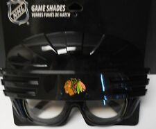Chicago Blackhawks Game Shades. Hockey Helmet Shaped. Pretty Neat  #X-500