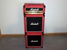 """Red Marshall Guitar Amp Lead 15 Micro Stack W/Reverb-2-10"""" Speakers PICK UP ONLY"""