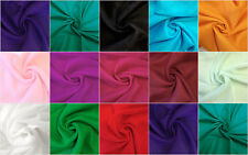 100% Cotton Indian Light Weight Plain Voile Crafts Solid Colour Natural Fabric