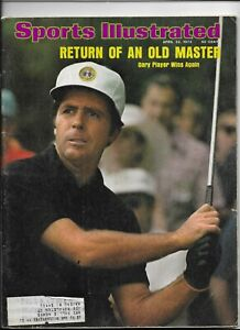 Sports Illustrated April 22 1974 Old Master Gary Player Wins Again NM