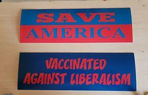 Bumper stickers political