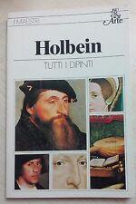 64564 Holbein - Tutti i dipinti - Rizzoli 1980