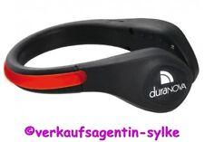 DURANOVA LED Schuhclip rot, Rote Schuhbeleuchtung, Sicherheitslicht für Schuhe