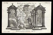 santino incisione1700 S.RANIERI DI PISA  klauber