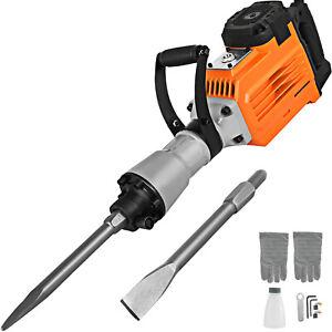 VEVOR 3500W Electric Demolition Hammer Breaker 95mm Concrete 1400RPM Non-slip
