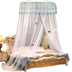 Princess Bed Canopy Netting Curtains Mosquito Net Bedding Dome Tent Hanging