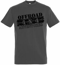 Off Road 4x4 T-Shirt Jeep  ATV US Car  Truck Trail V8   (SLCoff1)