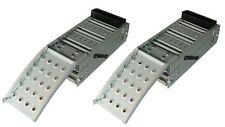 2 Auffahrrampen Rampe Laderampen klappbar Auffahrschienen Werkzeug Neu Rampen
