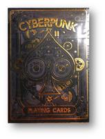 Cyberpunk Oro By Elefante Jugando a las Cartas Póquer Juego de Cartas Cardistry