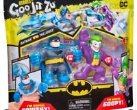 Twin Pack Dc Comics Goo Jit Zu Blue Caped Batman And Joker