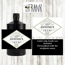 Funny/cute/rude/banter GIN LABEL. Personalised present/gift. Hendricks inspired