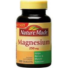 Nature Made Magnesium Oxide 250 mg ,200 Tablets