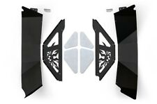 Poison Spyder JK Rear Inner Fender Kit - Black