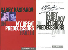 Garry Kasparov SIGNED AUTOGRAPHED My Great Predecessors Part III HC 1st Ed/1st