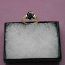 Unbranded Natural Sapphire Yellow Gold Fine Jewellery