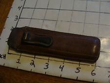 vintage Slide Rule: leather Pickett case only
