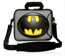 "15""-15.6""LAPTOP SLEEVE WITH HANDLE STRAP CARRY CASE BAG FOR ALL LAPTOPS *Batman*"