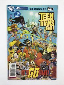 Teen Titans Go! #43 (Cartoon Network) (2007 DC Comics) Low Print VF-