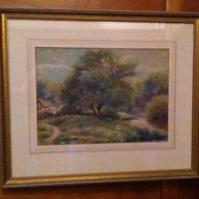 J. Brill 19th/20th Century English Victorian Watercolorist