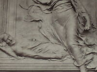 "[VINTAGE PHOTOGLYPTIE] ANTONIN MERCIE ""Michelet"" sc GALERIE CONTEMPORAINE 1878"