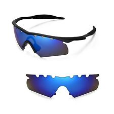 New WL Polarized Ice Blue Vented Replacement Lenses for Oakley M Frame Hybrid