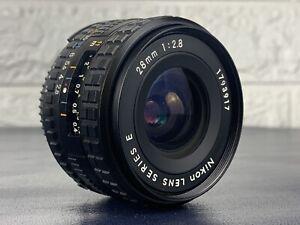 Nikon Lens Series E 28mm 1:2.8 35mm SLR Camera Wideangle Lens AI-S MINT Japan