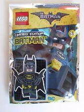 LEGO 221701 DC The Batman Movie Batman Limited Edition Foil Polybag Minifig NEW
