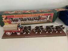 Ertl Budweiser Clydesdales Eight Horse Hitch Vintage