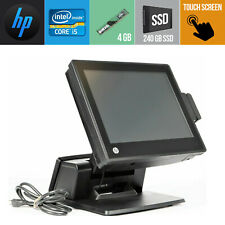 Pos System Touch Screen Hp Rp7 Rp7800 Core I5 4gb Ram 256 Gb Ssd Windows 7