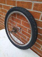 "Muscle Bike 20"" x 2.125""  3-Speed Hub Wheel + Tire 1960's Columbia Murray Huffy"