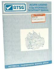 TECH MANUAL, G4 LEGEND 1986-87