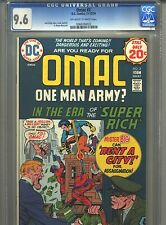 Omac #2 Cgc 9.6 (1974) Jack Kirby Only 7 Higher @ 9.8