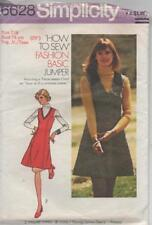 Simplicity 6628 Young Junior/Teen How to Sew Basic Jumper size 7- 8