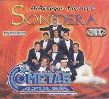 Los Internacionales Cometas Azules Antologia Musical Sonidera 3CD Caja de Carton