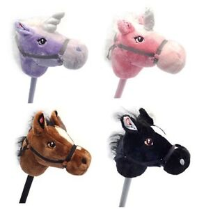 Hobby Horses Kids Hobbies Children Horse in Three colours with Real Horse Sound