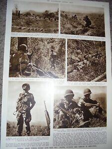 Photo article France war Dien Bien Phu Vietnam 1954 AK