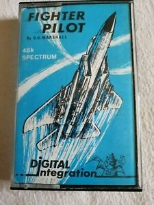 Fighter Pilot - ZX Spectrum 48K/128K Digital Integration 1983 Tested & Working