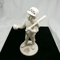 "Mint 1995 Lenox China Jewels Collection 8"" Baseball Player Boy #1 Made in USA"