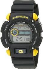 Casio Men's G-Shock Classic Digital Watch  Black/Yellow DW9052-1C9