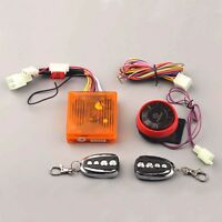Motorcycle Security Burglar Alarm System Remote Control Engine Start Flameout J2