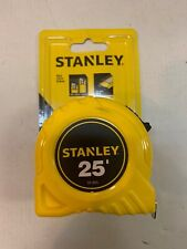 "STANLEY 30-455 25 ft. Tape Measure, 1"" Blade Brand New"