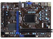 MSI B75MA-E33 Motherboard LGA1155 Intel B75 Micro ATX SATA3 DDR3 HDMI USB3.0