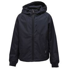 1098Y giacca antivento bimbo boy WOOLRICH dark blue wind stopper jacket