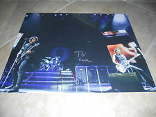 Green Day Tre Cool Huge Signed Autographed 16x20 Photo Psa Guaranteed G1