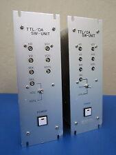 Lot of 2 M/A-Com TTL/OA SW-Unit B0279